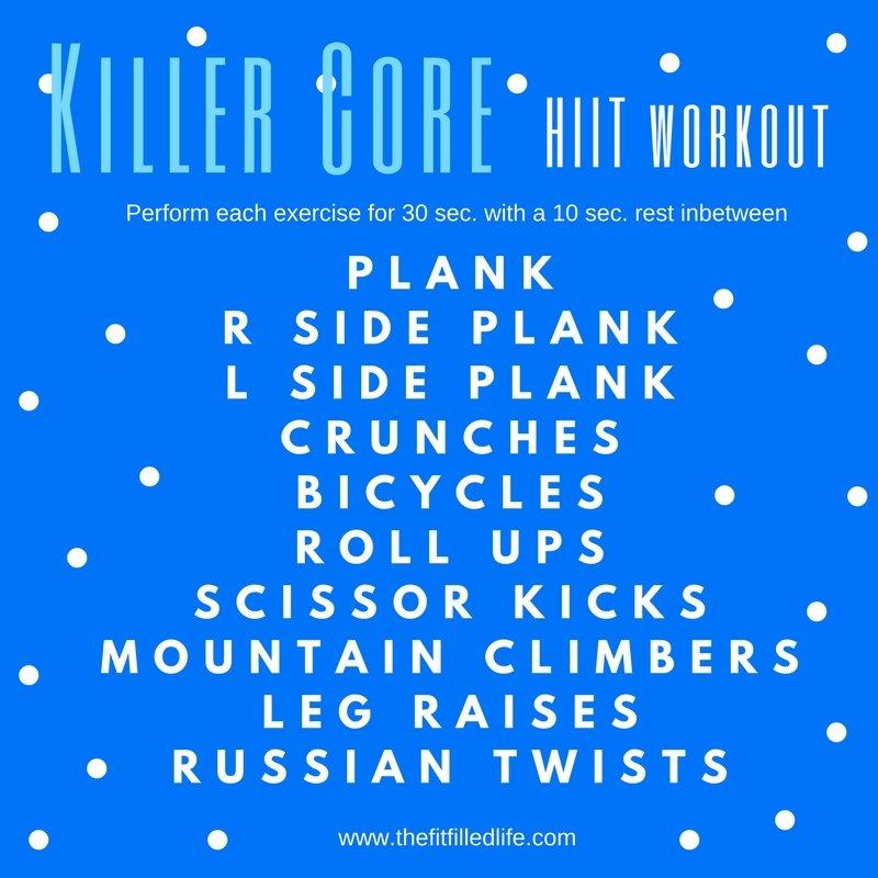 Killer Core HIIT Workout