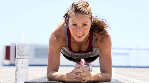 woman-plank-exercise-yoga-outdoors