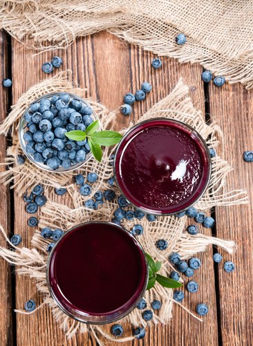 Anti-Inflammatory Deep Purple Smoothie