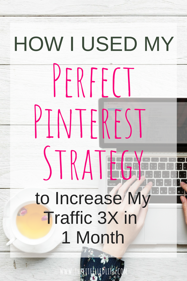 See how I used my Perfect Pinterest Strategy to grow my traffic by 3X. Use the exact strategy I use to ensure that you are making the most of this awesome platform to increase your blog or website traffic!