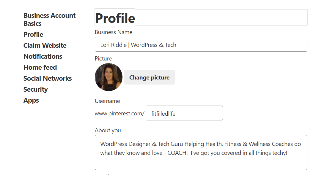 How To Create The Perfect Pinterest Profile