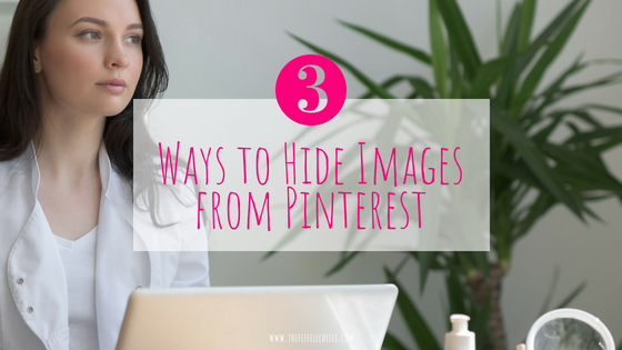 How to Hide Images from Pinterest