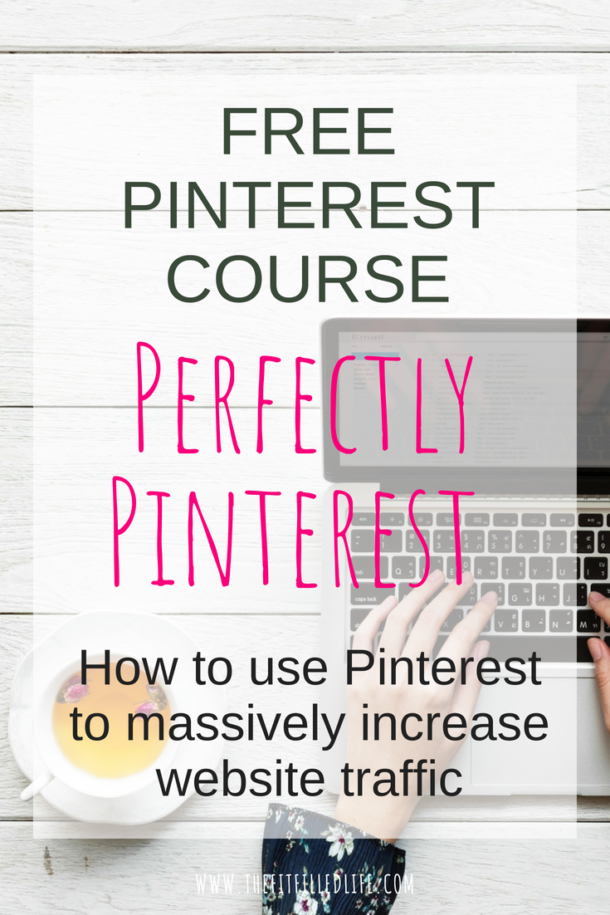 Free 5-Day Pinterest Email Course to learn how to develop a winning Pinterest strategy, create pins that go viral & wildly increase your website traffic.
